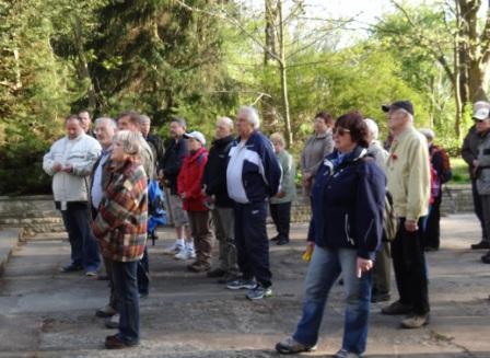 18.Gedenkwanderung am 1.Mai 2012 von Barth nach Ribnitz-Damgarten. Foto: Eckart Kreitlow