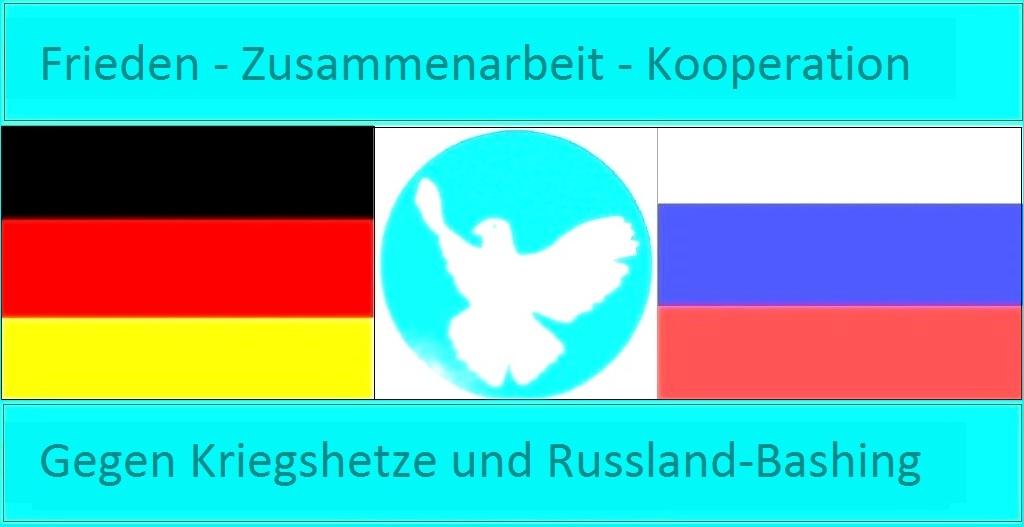 Frieden - Zusammenarbeit - Kooperation - Gegen Kriegshetze und Russland-Bashing - Ostsee-Rundschau.de
