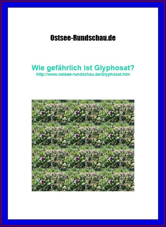Glyphosatseite auf Ostsee-Rundschau.de