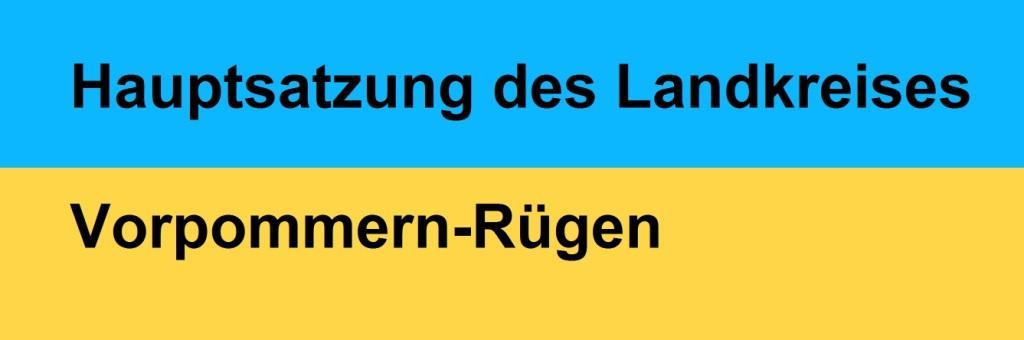 Hauptsatzung des Landkreises Vorpommern-Rügen - Lesefassung - PDF