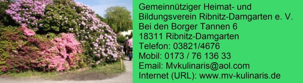 Gemeinnütziger Heimat- und Bildungsverein Ribnitz-Damgarten e. V.
