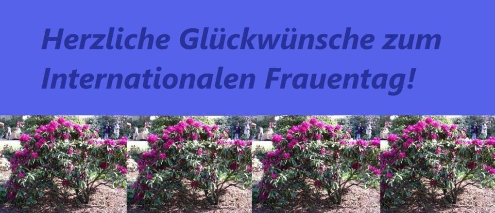 Herzliche Glückwünsche zum Internationalen Frauentag! - Ostsee-Rundschau.de