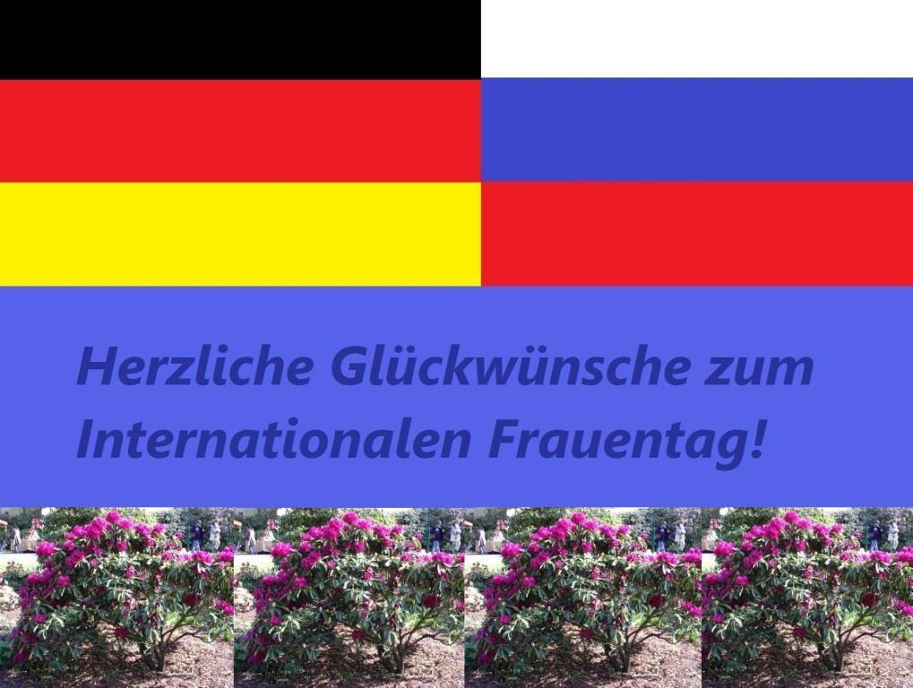 Gegen Kriegshetze und Russland-Bashing! - Herzliche Glückwünsche zum Internationalen Frauentag! - Ostsee-Rundschau.de