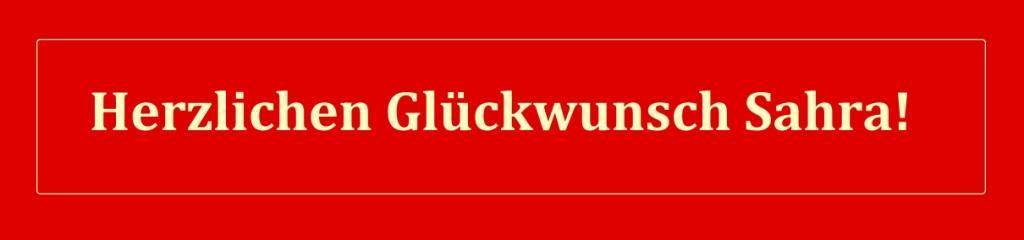 Herzlichen Glückwunsch Sahra! - Die Linke: Sahra Wagenknecht darf in der Partei bleiben - Die Linken-Politikerin Sahra Wagenknecht, nordrhein-westfälische Spitzenkandidatin zur Bundestagswahl, wird nicht aus ihrer Partei ausgeschlossen. Die Landesschiedskommission habe nun die beiden eingereichten Anträge auf Parteiausschluss einstimmig abgelehnt. -  RT DE - 5 Sep. 2021 16:04 Uhr - Link: https://de.rt.com/inland/123594-wagenknecht-darf-in-linkspartei-bleiben/