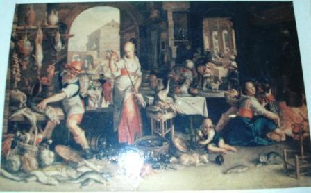 Ein Bild mit mittelalterlichen Motiven