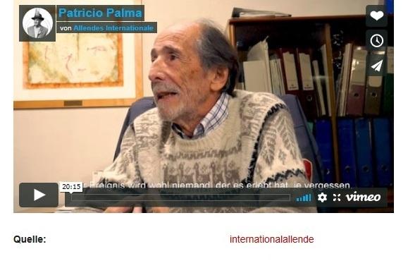 Patricio Palma  Allendes Internationale (Video) - amerika21 - Nachrichten und Analysen aus Lateinamerika - 24.09.2020