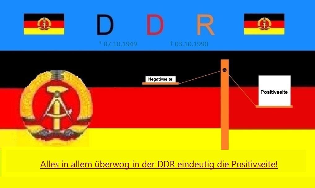Alles in allem überwog in der DDR in der Gesamtheit  eindeutig die Positivseite. Leider werden die Tatsachen jedoch geleugnet! - Ostsee-Rundschau.de