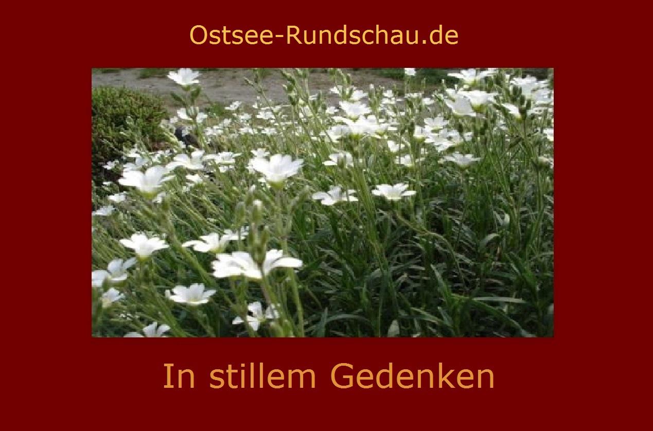 In stillem Gedenken - Trauer- und Gedenkseite der Neuen Unabhängigen Onlinezeitungen (NUOZ)