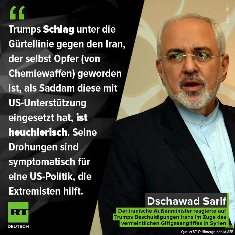 International - Syrien-Krieg kurz vor Eskalation: Teheran warnt Trump - Oliver Stone kritisiert westliche Kriegslust