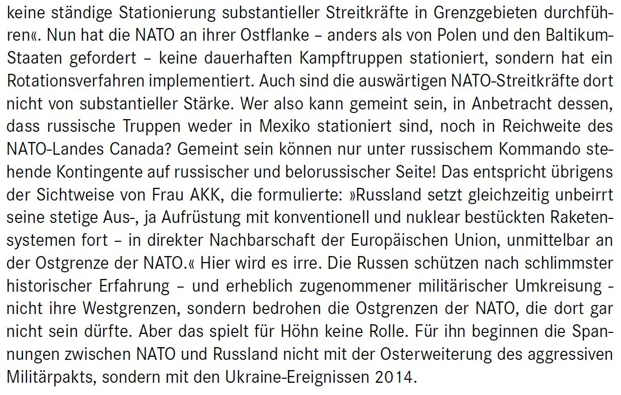 Aus dem Posteingang von Dr. Marianne Linke -  Stellungnahme der Kommunistische Plattform der Linkspartei zu dem Papier von Matthias Höhn - PDF - Abschnitt 6