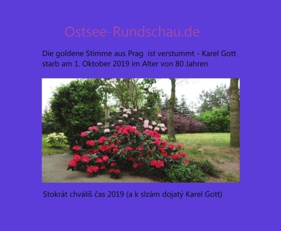 Die goldene Stimme aus Prag ist verstummt - Karel Gott starb am 1. Oktober 2019 im Alter von 80 Jahren - Stokrát chválíš čas 2019 (a k slzám dojatý Karel Gott) - Die goldene Stimme aus Prag - Karel Gott - geb. 14.7.1939   - gest. 1.10.2019