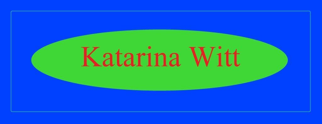 Katarina Witt - mehrfache Olympiasiegerin, Europa- und Weltmeisterin im Eiskunstlaufen, eine der erfolgreichsten Sportlerinnen, wenn nicht sogar die erfolgreichste Sportlerin der DDR und heute eine erfolgreiche Unternehmerin