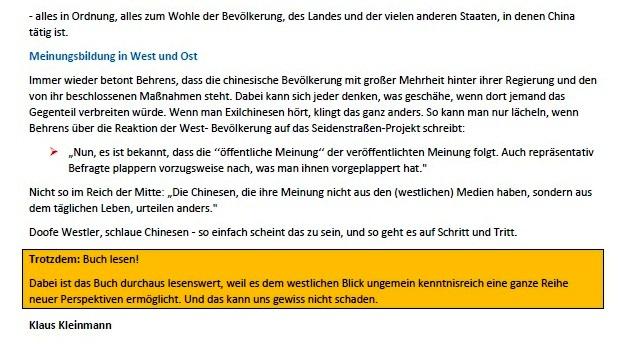 Klaus Kleinmann - Linke Brise Stralsund - August 2021 - Aus dem Posteingang von Siegfried Dienel vom 03.08.2021 - Abschnitt 2