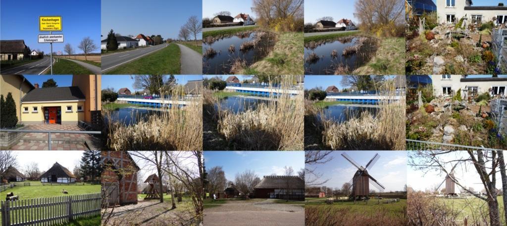 Fotografische Eindrücke aus dem Ortsteil Klockenhagen der Bernsteinstadt Ribnitz-Damgarten im Landkreis Vorpommern-Rügen - Ostsee-Rundschau.de -  Fotos: Eckart Kreitlow