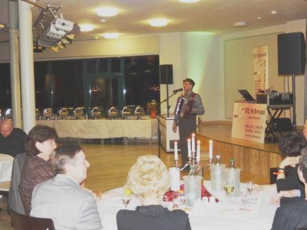 Beim Köcheball 2012 sorgte Bauer Korl im Recknitztal-Hotel für humorvolle Unterhaltung. Foto: Eckart Kreitlow