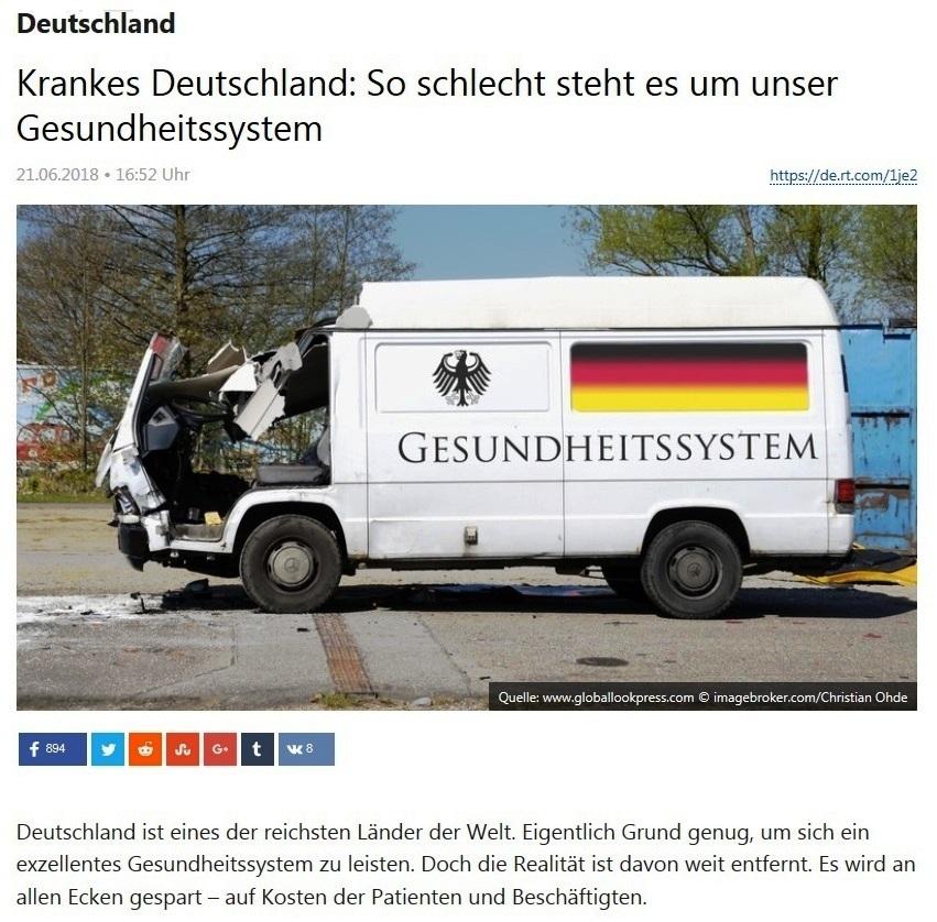 Deutschland - Krankes Deutschland: So schlecht steht es um unser Gesundheitssystem