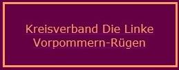 Kreisverband DIE LINKE Vorpommern-Rügen
