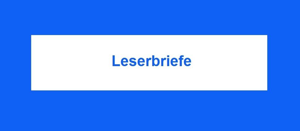 Neue Unabhängige Onlinezeitungen - Ostsee-Rundschau.de - Leserbriefe