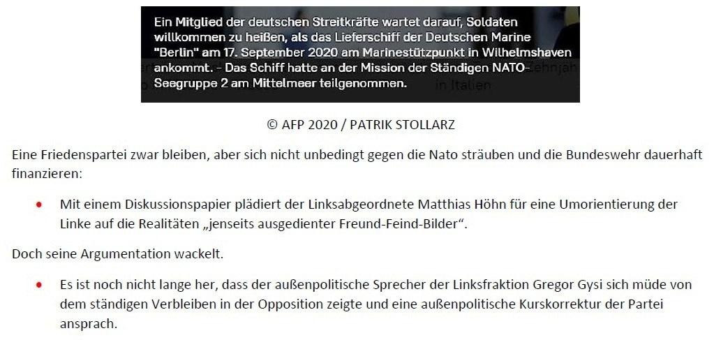 Linkspolitik will radikalen Kurswechsel - von Liudmila Kotlyarova - SNA - 20.01.2021 - Aus dem Posteingang von Siegfried Dienel vom 23.01.2021 - Abschnitt 2 von 5