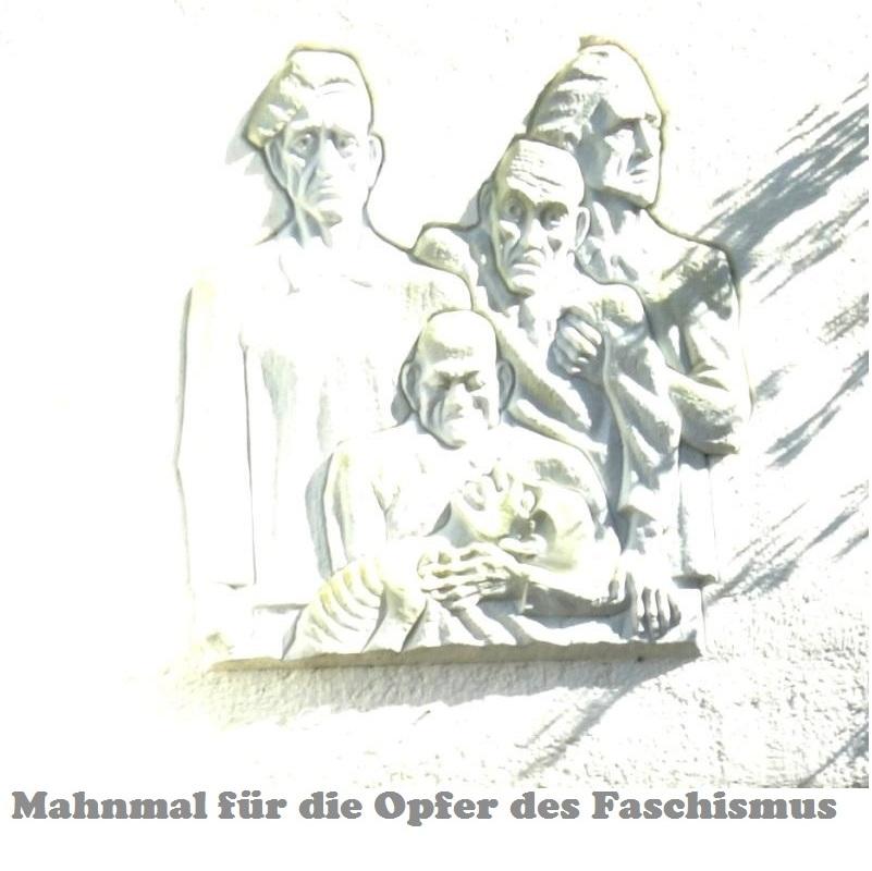 Mahnmal für die Opfer des Faschismus in der Mühlenstraße in Ribnitz-Damgarten. Foto: Eckart Kreitlow