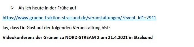 3 Bitten an Dich - E-Mail an Frank Kracht am 20.04.2021 - Aus dem Posteingang von Siegfried Dienel vom 21.04.2021 - Link: