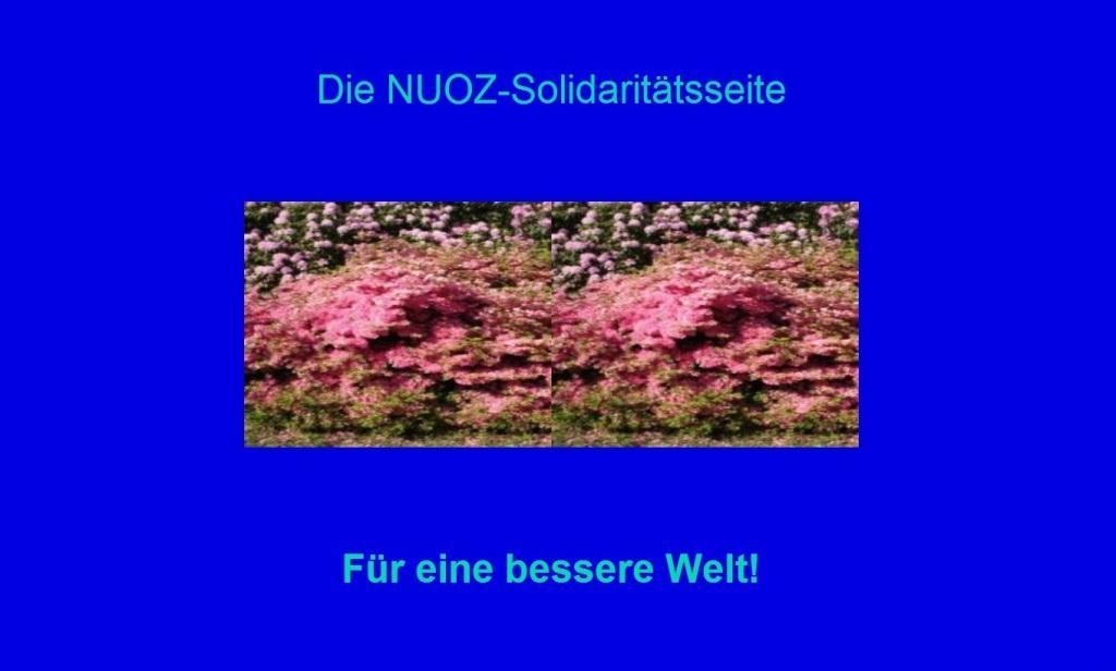 Die NUOZ-Solidaritätsseite auf Ostsee-Rundschau.de - Für eine bessere Welt! - Solidaritätsaktionen für Menschen in Not! - Freundschaft, das ist Heimat! - Neue Unabhängige Onlinezeitungen (NUOZ) - Solidaritätsaktionen für Menschen in Not