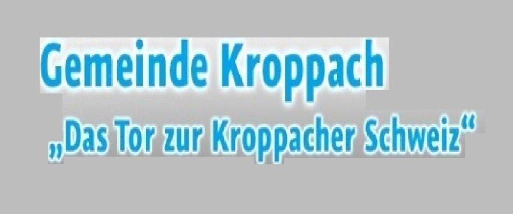 Närrischer Dorftreff in der Gemeinde Kroppach im Westerwaldkreis im Bundesland Rheinland-Pfalz