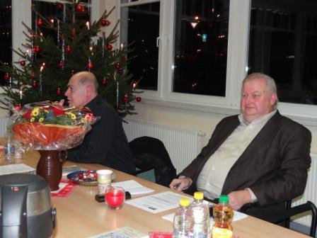Dr. Hikmat Al-Sabty -  ein sehr unterhaltsamer Abend mit Vortrag zum Thema Meine Reise nach Palästina und einem Kulturprogramm am 8.Dezember 2011 in den Räumlichkeiten am Stadion am Bodden in Ribnitz-Damgarten. Foto: Ingrid Hoffmann