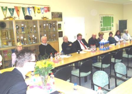 Mitgliederversammlung des Ortsverbandes DIE LINKE Ribnitz-Damgarten am 6.M�rz 2014 zur Nominierung der Kandidatinnen und Kandidaten der Partei DIE LINKE zu den Kommunalwahlen am 25. Mai 2014 in Ribnitz-Damgarten. Foto: Eckart Kreitlow