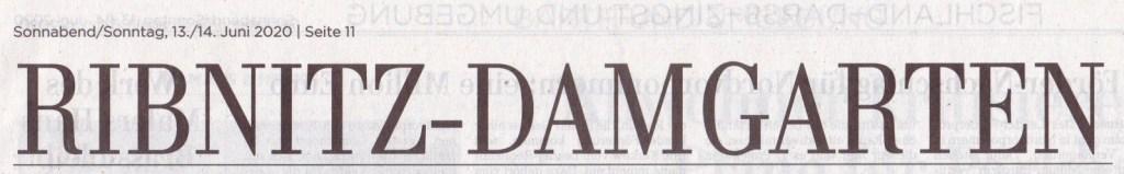 OZ-Beitrag Sonnabend/Sonntag, 13./14.Juni 2020 | Seite 11