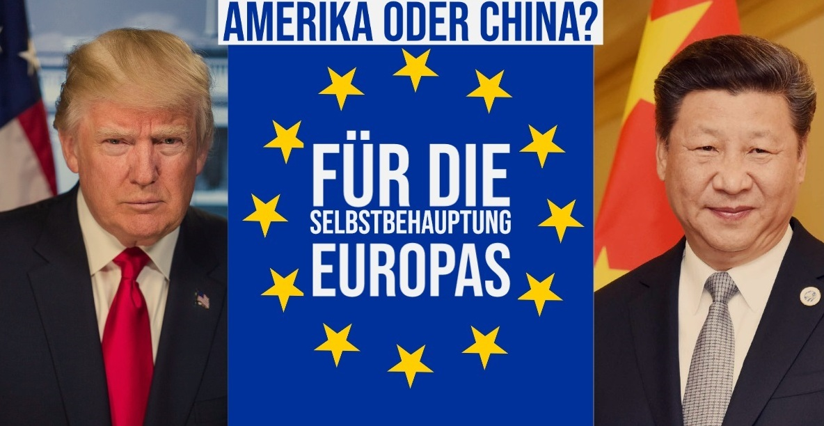Oskar Lafontaine: Amerika oder China? Die deutschen US-Knechte trommeln für die Fortsetzung der bewährten 'Partnerschaft' mit den USA - Oskar Lafontaine auf Facebook - 3.05.2020