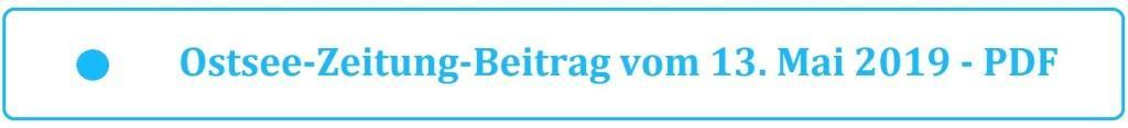 Ostsee-Zeitung-Beitrag vom 13. Mai 2019 - Kommunalwahl am 26. Mai 2019 in Mecklenburg-Vorpommern - PDF