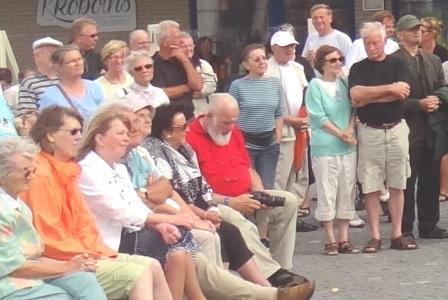 Bilder von der Ostseeb�dertour der Bundestagsfraktion DIE LINKE in Ostseeheilbad Graal-M�ritz am 9.August 2014. Foto: Eckart Kreitlow