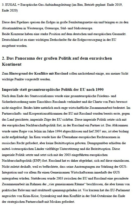 Pipeline unter Feuer - Warum Nord Stream 2 verhindert werden soll - von Dr. Detlef Bimboes - Aus dem Posteingang von Siegfried Dienel vom 27.04.2021 - Abschnitt 2