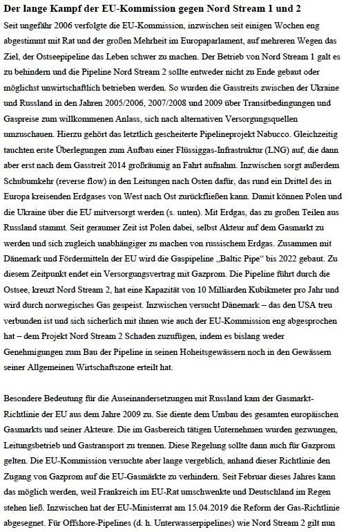 Pipeline unter Feuer - Warum Nord Stream 2 verhindert werden soll - von Dr. Detlef Bimboes - Aus dem Posteingang von Siegfried Dienel vom 27.04.2021 - Abschnitt 7