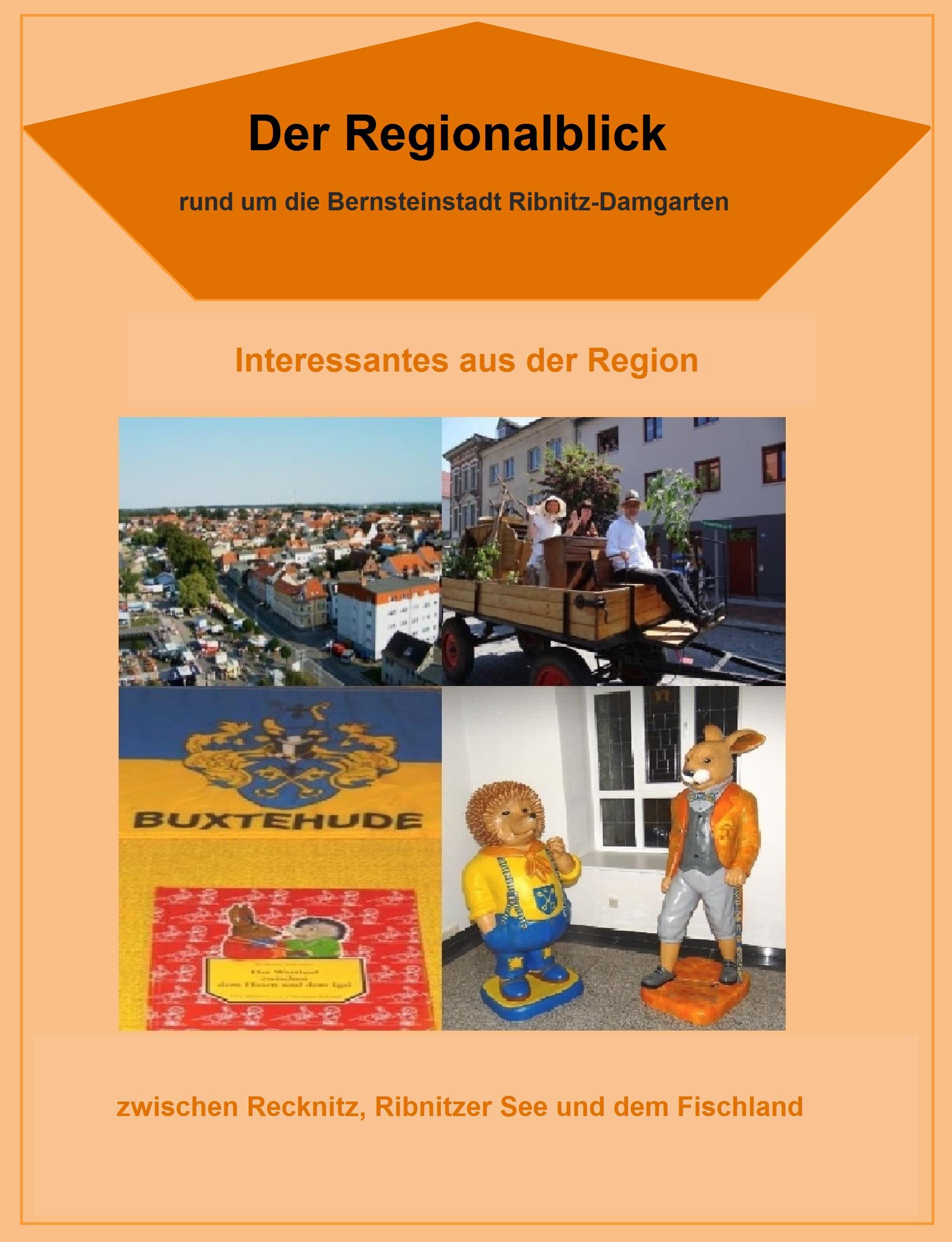 Der Regionalblick rund um die Bernsteinstadt Ribnitz-Damgarten - Interessantes aus der Region zwischen Recknitz, Ribnitzer See und dem Fischland