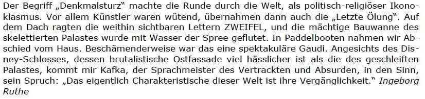 Replik auf den Spiegel: Der Hamburger Spiegel schreibt positiv über den Osten, und wir sagen 'Danke!' - Berliner Zeitung - 06.06.2021 - Berliner Zeitung: Abwicklung DDR: Diplomaten / Treuhand / Palast der Republik - Aus dem Posteingang vom 13.06.2021 von Dr. Marianne Linke - Link: https://www.berliner-zeitung.de/wochenende/der-hamburger-spiegel-schreibt-positiv-ueber-den-osten-und-wir-sagen-danke-li.162776 - Teil 5