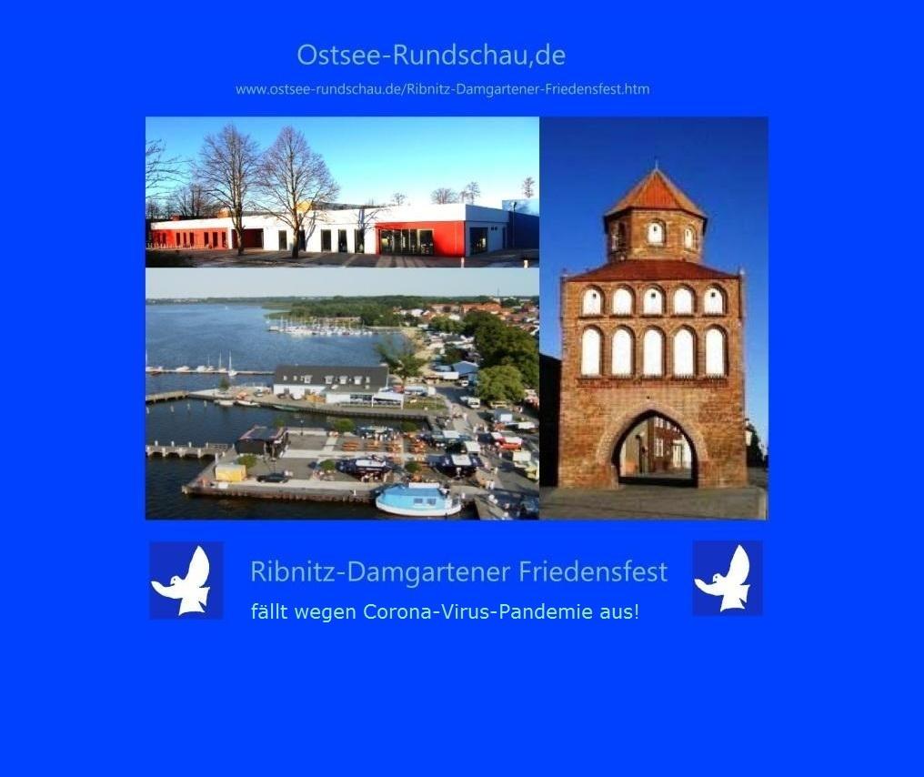 Ribnitz-Damgartener Friedensfest - Ostsee-Rundschau.de - www.ostsee-rundschau.de/Ribnitz-Damgartener-Friedensfest.htm