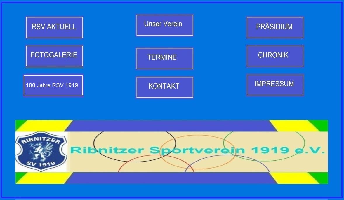 Ribnitzer Sportverein 1919 e. V. - Internetpräsenz. Grafik: Eckart Kreitlow