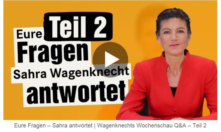 Aus dem Posteingang von Dr. Sahra Wagenknecht (MdB) - Team Sahra 01.04.2021 - Unbeschwert Ostern feiern? Leider nicht möglich... - Abschnitt 2