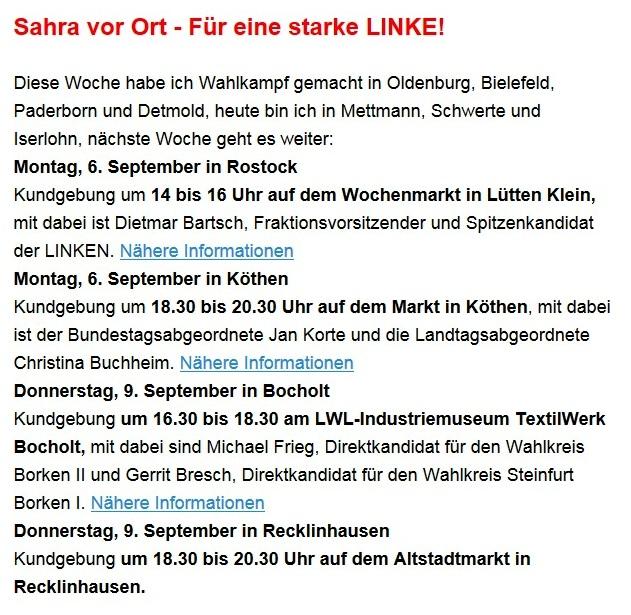 Aus dem Posteingang von Dr. Sahra Wagenknecht (MdB) - Team Sahra 02.09.2021 - Corona: Mythen statt Fakten - Wie Merkel & Co. die Gesellschaft spalten - Abschnitt 3