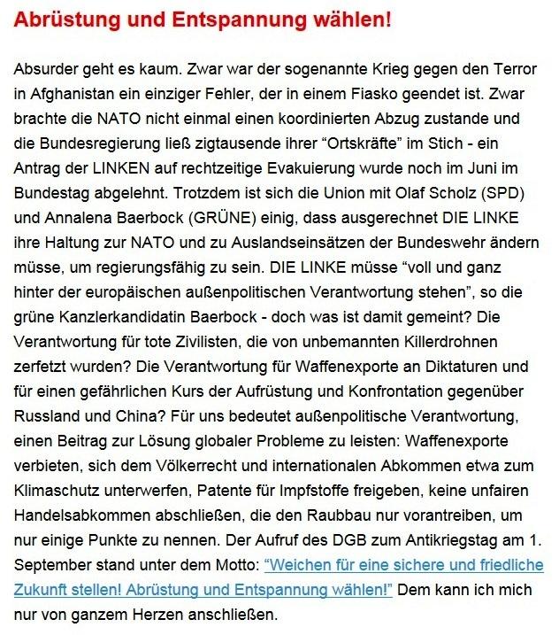 Aus dem Posteingang von Dr. Sahra Wagenknecht (MdB) - Team Sahra 02.09.2021 - Corona: Mythen statt Fakten - Wie Merkel & Co. die Gesellschaft spalten - Abschnitt 4