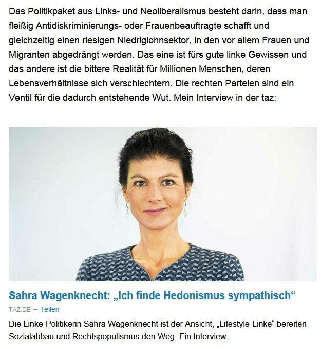 Aus dem Posteingang von Dr. Sahra Wagenknecht (MdB) - Team Sahra 03.06.2021 - Einsam, krank, abgehängt? Was die Corona-Politik mit Kindern macht - Abschnitt 2 - Link: https://taz.de/Neues-Buch-von-Sahra-Wagenknecht/!5771163/