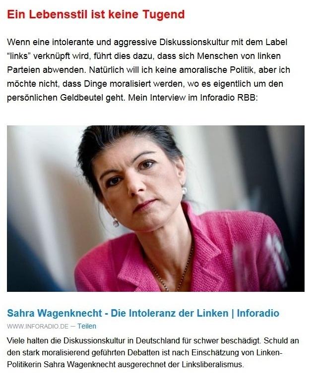 Aus dem Posteingang von Dr. Sahra Wagenknecht (MdB) - Team Sahra 03.06.2021 - Einsam, krank, abgehängt? Was die Corona-Politik mit Kindern macht - Abschnitt 6 - Link: https://www.inforadio.de/programm/schema/sendungen/zwoelfzweiundzwanzig/202106/05/551072.html?utm_campaign=Sahra%20Wagenknecht&utm_medium=email&utm_source=Revue%20newsletter