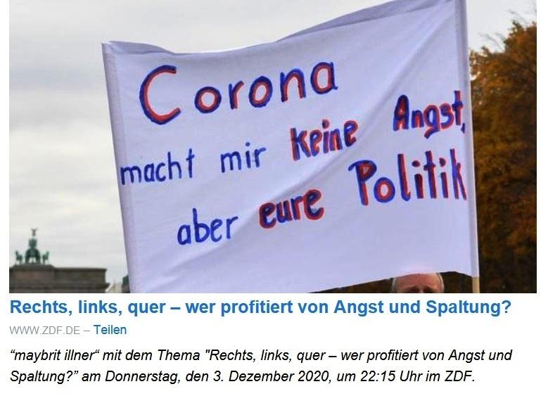 Aus dem Posteingang von Dr. Sahra Wagenknecht (MdB) - Team Sahra 03.12.2020 - Nie wieder so leben wie vor Corona? Was uns dieses seltsame Jahr tatsächlich lehrt - Abschnitt 5