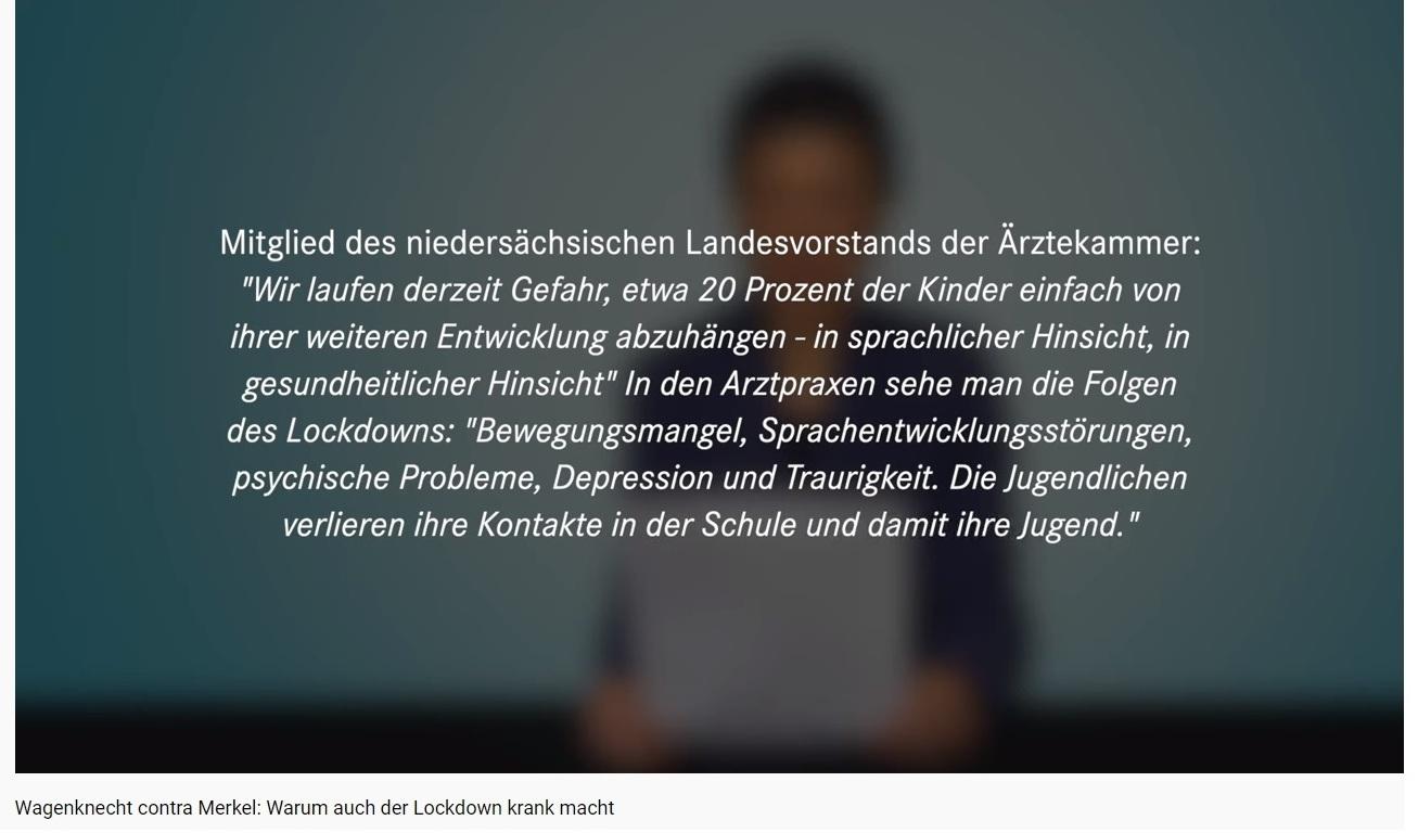 Aus dem Posteingang von Dr. Sahra Wagenknecht (MdB) - Team Sahra 04.02.2021 - Vergessen und zunehmend verzweifelt: Kinder und Familien - Abschnitt 2 - 22