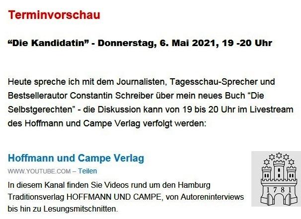 Aus dem Posteingang von Dr. Sahra Wagenknecht (MdB) - Team Sahra 06.05.2021 - #allesdichtmachen - Grün wählen, schwarz ärgern? Zum Hype um eine Mogelpackung - Abschnitt 8