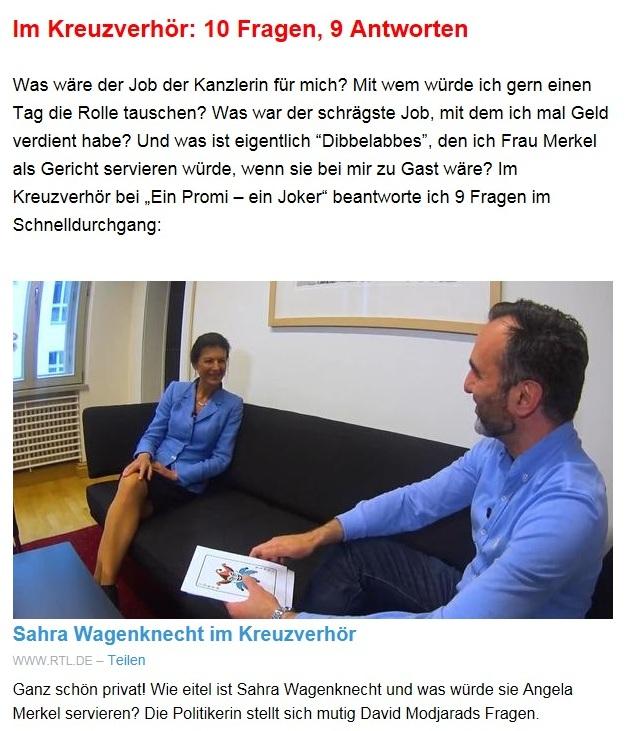 Aus dem Posteingang von Dr. Sahra Wagenknecht (MdB) - Team Sahra 08.07.2021 - Das Leben wird teurer - auch wegen falscher Politik - Abschnitt 3 - Link: https://www.rtl.de/cms/sahra-wagenknecht-im-kreuzverhoer-so-eitel-ist-die-politikerin-4790332.html