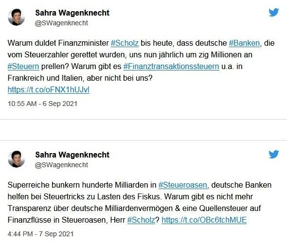 Aus dem Posteingang von Dr. Sahra Wagenknecht (MdB) - Team Sahra 09.09.2021 - Ernste Probleme und ein inhaltsarmer Wahlkampf - Abschnitt 7