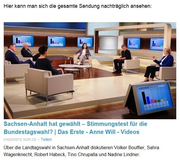 """Aus dem Posteingang von Dr. Sahra Wagenknecht (MdB) - Team Sahra 10.06.2021 - Von wegen """"Partei der Mitte""""! Wie die CDU Politik gegen die Mitte macht - Abschnitt 3 - Link: https://daserste.ndr.de/annewill/videos/Sachsen-Anhalt-hat-gewaehlt-Stimmungstest-fuer-die-Bundestagswahl-,annewill7068.html?utm_campaign=Sahra%20Wagenknecht&utm_medium=email&utm_source=Revue%20newsletter"""